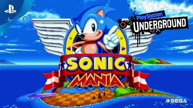 Sonic Mania PS4 Gameplay   PlayStation Underground