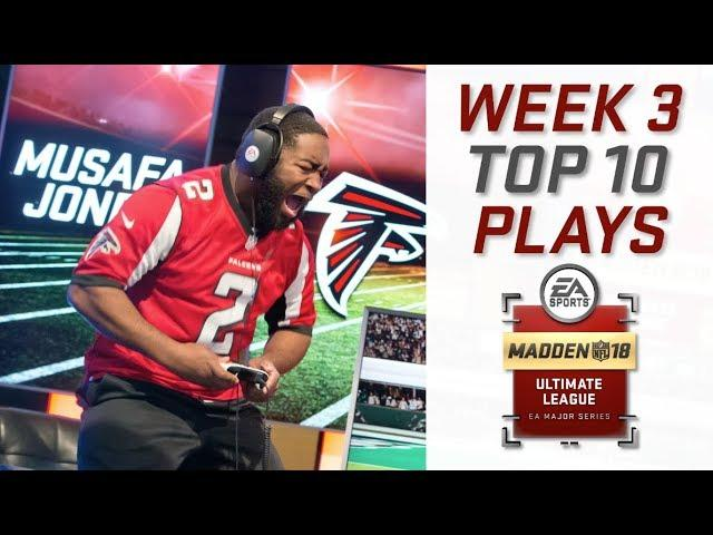 Top 10 Plays of Week 3   Madden Ultimate League   Madden NFL 18