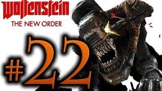 Wolfenstein The New Order Walkthrough Part 22 [1080p HD] - No Commentary