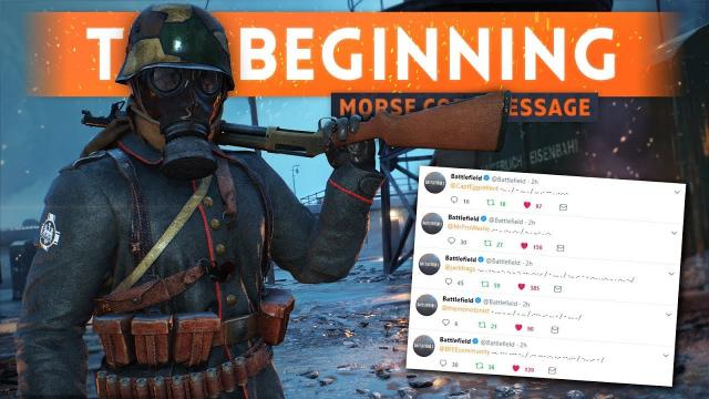 """""""THIS IS JUST THE BEGINNING"""" - New Morse Code Message! Battlefield 2018 Easter Egg Hunt"""