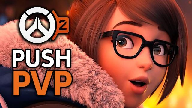 "Overwatch 2 - 5 Minutes Of The New PVP Mode ""Push"" Gameplay"