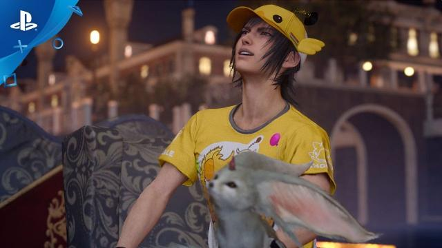 Final Fantasy XV - Moogle Chocobo Carnival Trailer | PS4