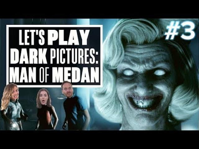 Let's Play Dark Pictures: Man of Medan Movie Night Gameplay Part 3 - LET THE BODIES HIT THE DECK!!