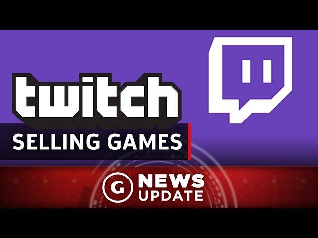 You Can Now Buy Games From Twitch - GS News Update