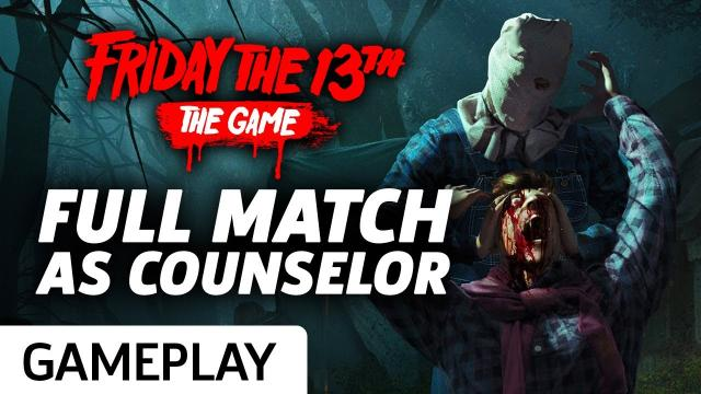 Friday The 13th - Surviving As A Counselor Gameplay