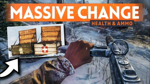 MASSIVE HEALING & AMMO CHANGES ???? Battlefield 5 May Patch Update