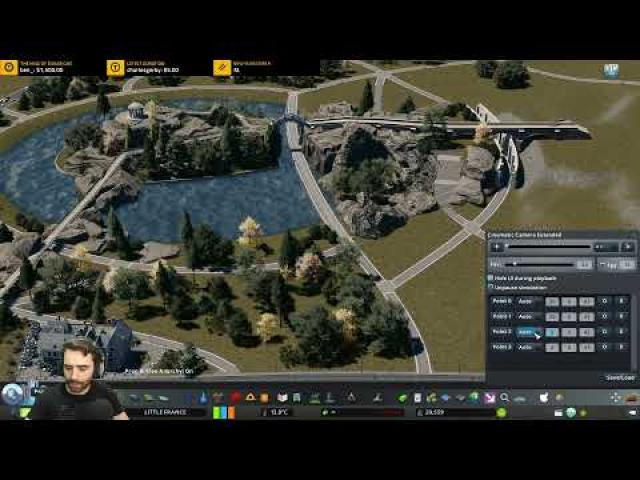 #105 Let's finish Parc des Buttes-Chaumont! Cities Skylines: Little France | Friday Night With Skib