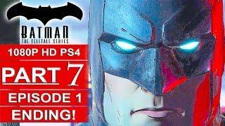 BATMAN Telltale EPISODE 1 ENDING Gameplay Walkthrough Part 7 No Commentary (BATMAN Telltale Series)