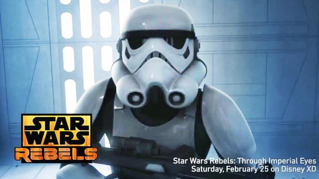 Star Wars Rebels Season 3 - EPIC First-Person GO PRO Episode Revealed! Agent Kallus Undercover!