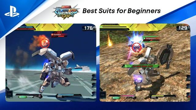 Mobile Suit Gundam Extreme Vs. Maxiboost On - Front & Back Play | PS CC