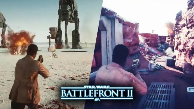 Star Wars Battlefront 2 - NEW FINN GAMEPLAY on CRAIT! The Last Jedi DLC Multiplayer Gameplay