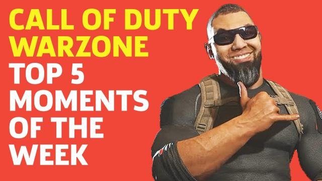 Top 5 Call of Duty: Warzone Moments Of The Week