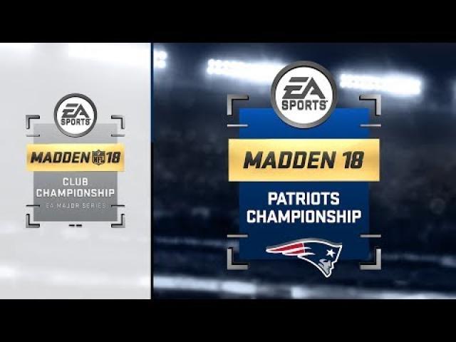 Madden NFL 18 Club Series | Patriots Championship