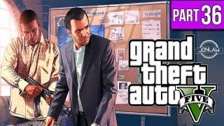Grand Theft Auto 5 Walkthrough - Part 36 STEALTH SNIPER - Let's Play Gameplay&Commentary GTA V