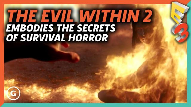 The Evil Within 2 Embodies The Secrets Of Survival Horror | E3 2017 GameSpot Show