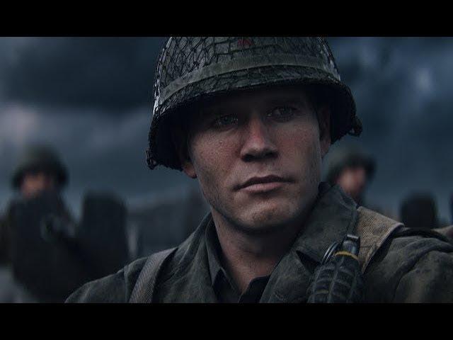 Call of Duty®: WWII - официальный ролик Реда Дэниелса [RU]