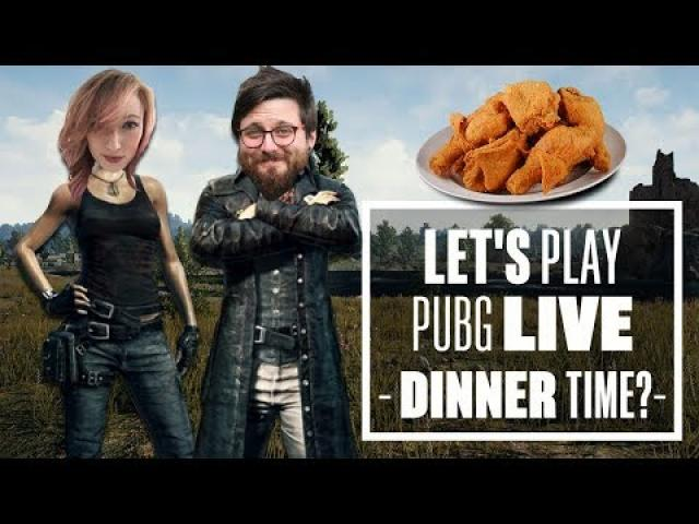 Let's Play PUBG Live - Johnny & Aoife's Chicken Hunt!