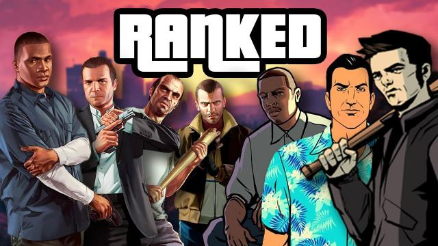 Grand Theft Auto Games RANKED
