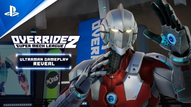 Override 2: Super Mech League - Ultraman Gameplay Trailer | PS5, PS4
