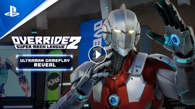 Override 2: Super Mech League - Ultraman Gameplay Trailer ...