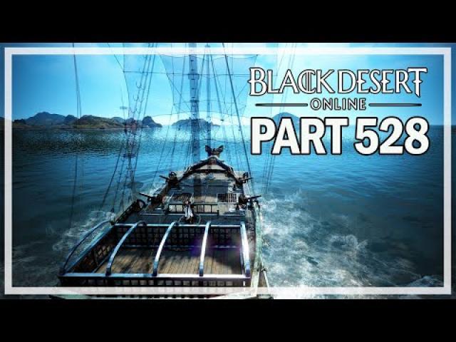 Black Desert Online - Dark Knight Let's Play Part 528 - Frigate