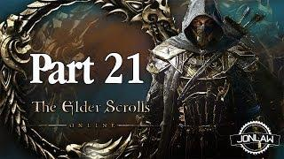 The Elder Scrolls Online Walkthrough - Part 21 POOL PERIL - Gameplay&Commentary