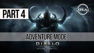 Diablo 3 Reaper of Souls Walkthrough: Part 4 Adventure Mode Gameplay