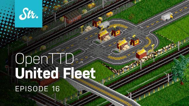 Fruit Shuttles — OpenTTD: United Fleet — EP 16