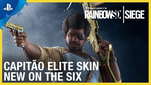 Rainbow Six Siege - Capitão Elite Set: New on the Six | PS4