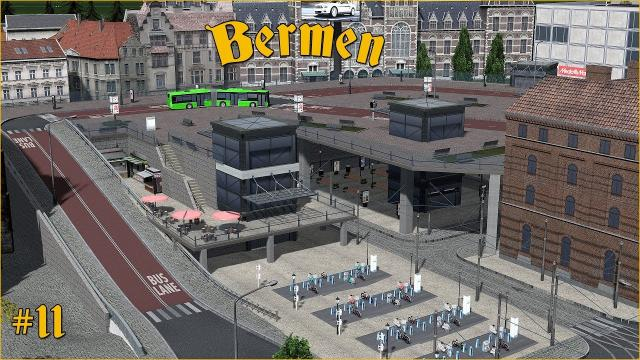 Cities Skylines: Bermen - Transport Terminal on 2 levels  #11