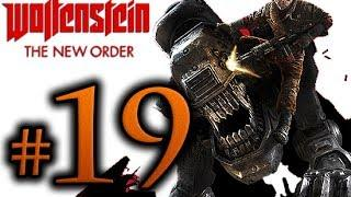 Wolfenstein The New Order Walkthrough Part 19 [1080p HD] - No Commentary