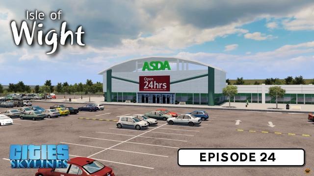 British Supermarket - Cities: Skylines: Isle of Wight - 24