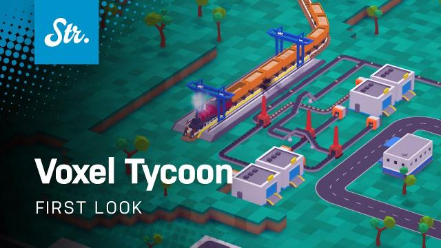 +2hs of Voxel Tycoon Gameplay (Pre-Alpha)