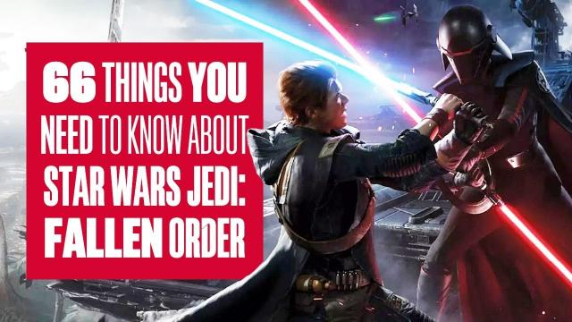 (Order) 66 Things You Need To Know About Star Wars Jedi: Fallen Order New Gameplay!