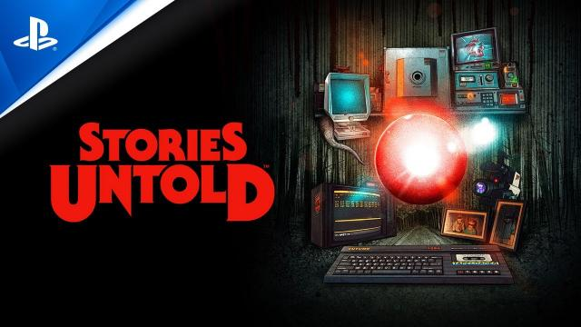 Stories Untold - Launch Trailer | PS4