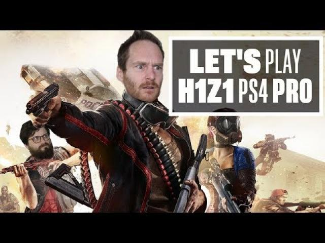 Let's Play H1Z1 PS4 Pro gameplay with Ian and Johnny - DOING THE DUOS IN HONEZONE!