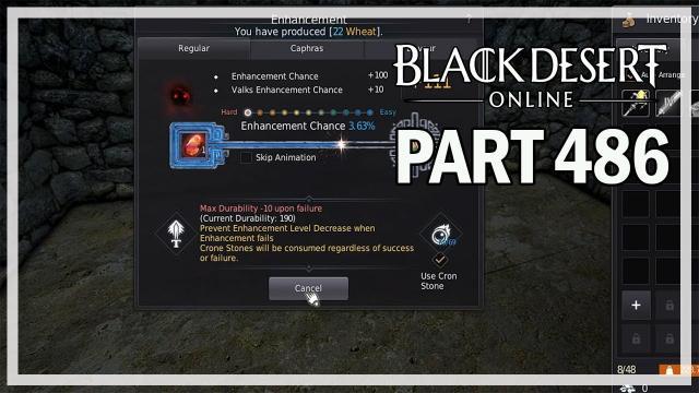 Black Desert Online - Dark Knight Let's Play Part 486 - Gathering Mastery