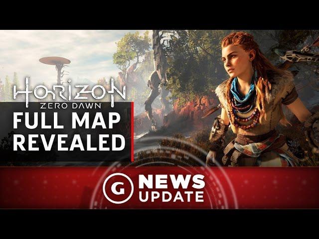 Horizon Zero Dawn's Full World Map Revealed - GS News Update