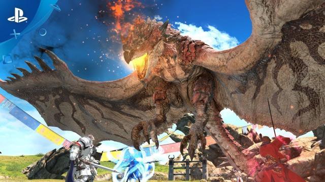 Final Fantasy XIV x Monster Hunter: World - Collaboration Trailer | PS4