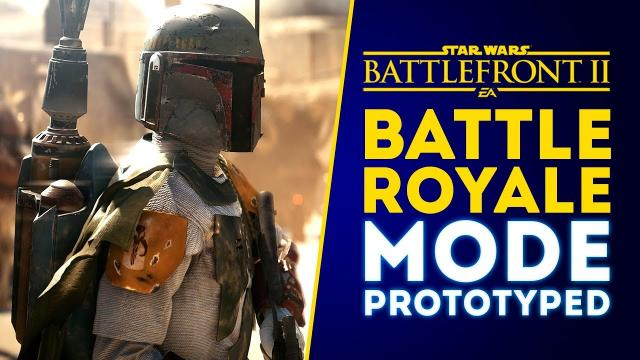 Battle Royale Mode Prototyped! NEW DETAILS and UPDATE! - Star Wars Battlefront 2