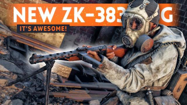 NEW ZK-383 SMG IS AWESOME! - Battlefield 5 Lighting Strikes (New Weapon Unlock Gameplay)