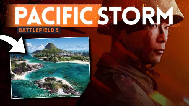 """""""PACIFIC STORM"""" Map Discovered ???????? Battlefield 5 (Data Mine)"""