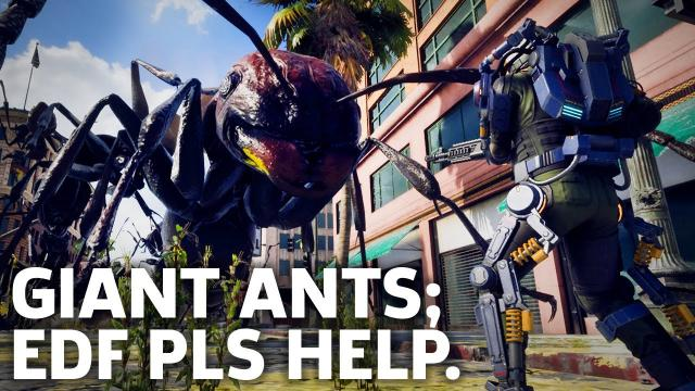 Kill All Ants - Earth Defence Force: Iron Rain Gameplay