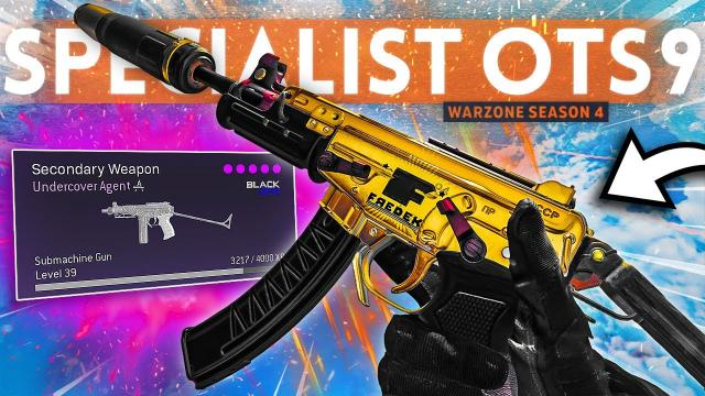 The OTs 9 is the HIGHEST DAMAGE SMG in Warzone right now! (Best Class Setup)