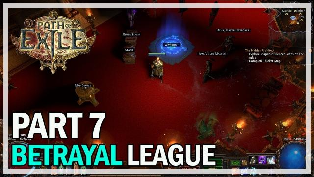 Path of Exile - Betrayal League Let's Play Part 7 - Solaris & Lunaris Boss