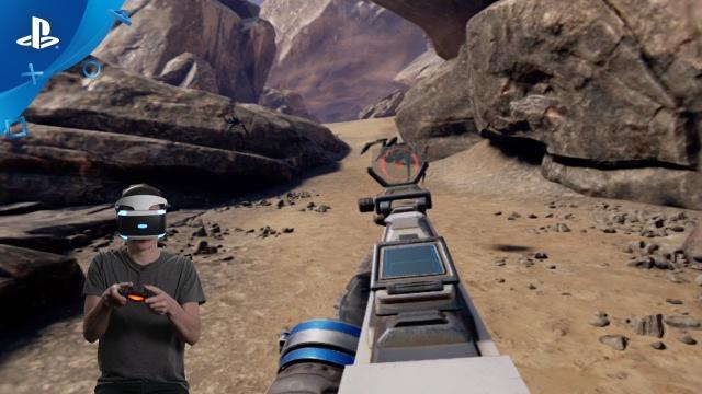 Farpoint - Configuration de la manette DS4 et démonstration | PS VR