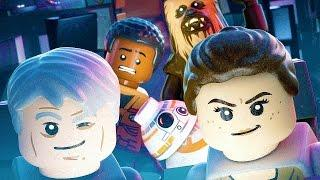 LEGO Star Wars The Force Awakens All Cutscenes Full Movie 2016