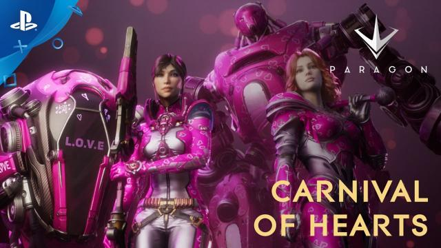 Paragon - [New Event!] Carnival of Hearts Trailer | PS4