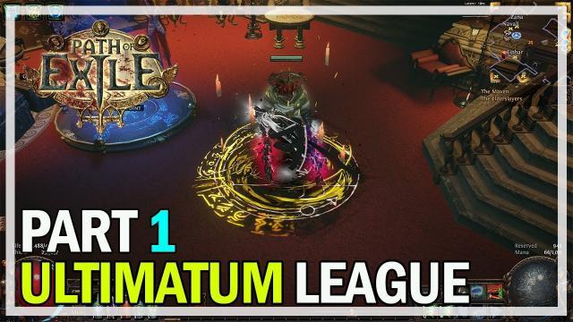 Path of Exile Ultimatum League - Episode 1 - CoC Ice Nova