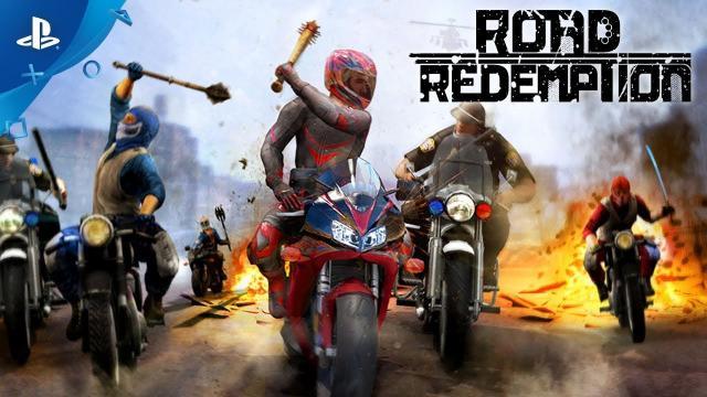 Road Redemption – Announcement Trailer | PS4